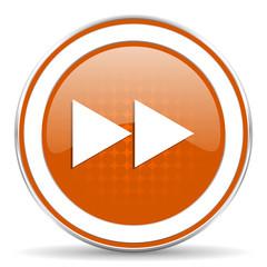 rewind orange icon