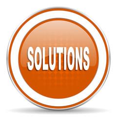 solutions orange icon