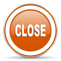 close orange icon