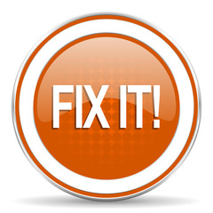 fix it orange icon