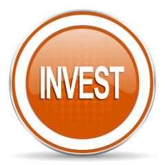 invest orange icon
