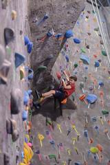 Climbing Tough Section