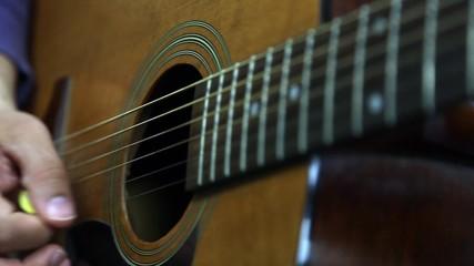 Akustik Gitar Arpej