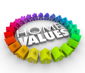 Home Values Houses Real Estate Neighborhood Property Investment