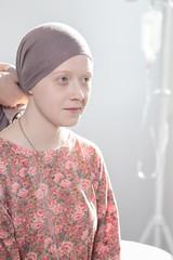 Cancer teenage girl