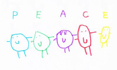 peace. children art