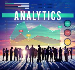 Analytics Analysis Business Marketing Concept