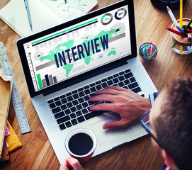 Interview Interviewer Information Ideas Report Concept