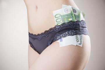 Concept - prostitution