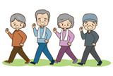 高齢者の体力作り