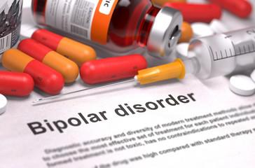 Bipolar Disorder - Medical Concept.