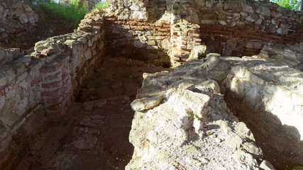 Ruins of the ancient city of Halmyris