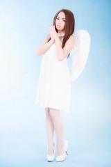 Beautiful young angel