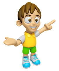 3D Child Mascot has been welcomed with both hands. Work and Job