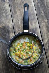 Boiled  Organic Vegetable