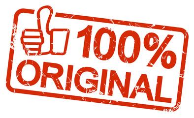 red stamp 100% ORIGINAL