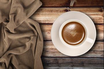 tazzina di caffè in fondo ambient © Giuseppe Porzani
