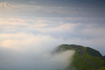 ラピュタの道の雲海