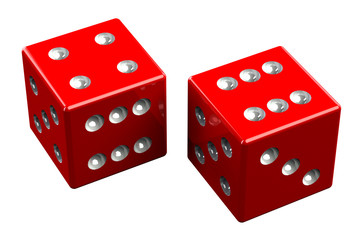 Pair of dice - Easy Ten