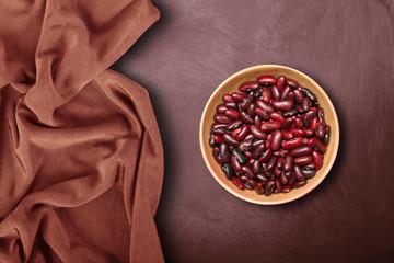 ciotola di fagioli rossi in fondo ambient
