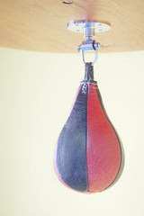 The image of punching bag