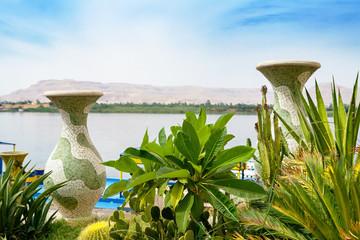 Nile River at Luxor. Egypt