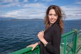 Woman on Washington Ferry Boat