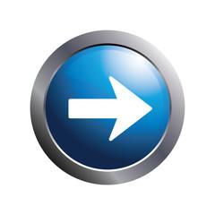 Right arrow icon. Vector.