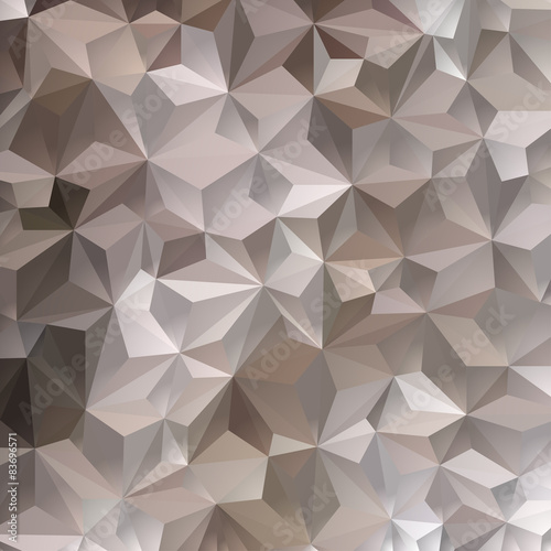 Brown Triangle Abstract Background