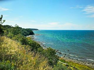 Blick auf die Ostsee von der Insel Rügen