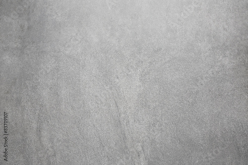 Poster Betonbehang Gray concrete wall, abstract texture background