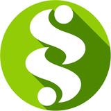 Icon, Logo, Symbol für Anwalt und Justiz