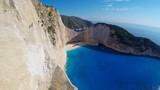 Shipwreck bay, Navagio - Zakynthos, Greece, amazing beach