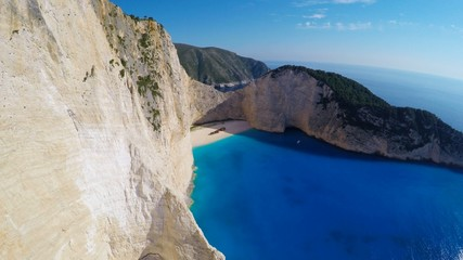 Shipwreck bay, Navagio - Zakynthos, Greece, amazing beach