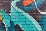 Graffiti wall close up / macro - 83727755