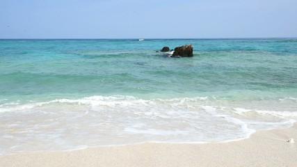 美しい海とさわやかな空