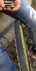 bicycle tire repair