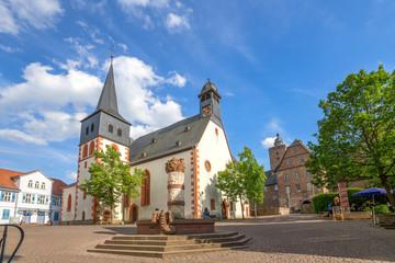 Kirche, Stadtschloss, Steinau an der Straße