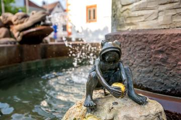 Märchenbrunnen Froschkönig