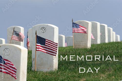 Memorial Day - Fort Rosecrans National Cemetery Poster