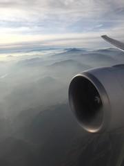 au dessus de la brume