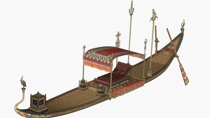 bateau égyptien