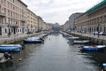 Ponte Rosso a Trieste