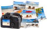 Fototapeta plages de l'île Maurice sur photos souvenirs