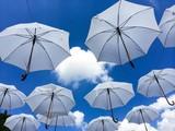 Fototapety Sky Umbrellas