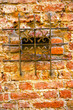 milan  in italy old    brick   the    abstract  background stone