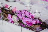 Fototapety Hochzeit Blumen Dekoration