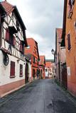 rue de village alsacien - 83796139