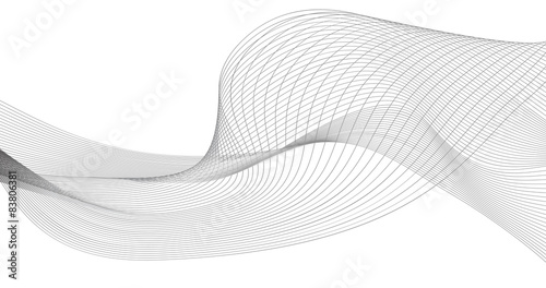 abstract wave element for design vector illustration