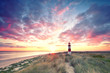Leinwandbild Motiv Dünen am Leuchtturm - Sylt